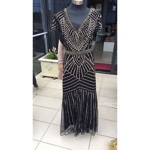 Black and gold formal dress/ RENT OR BUY Arncliffe Rockdale Area Preview