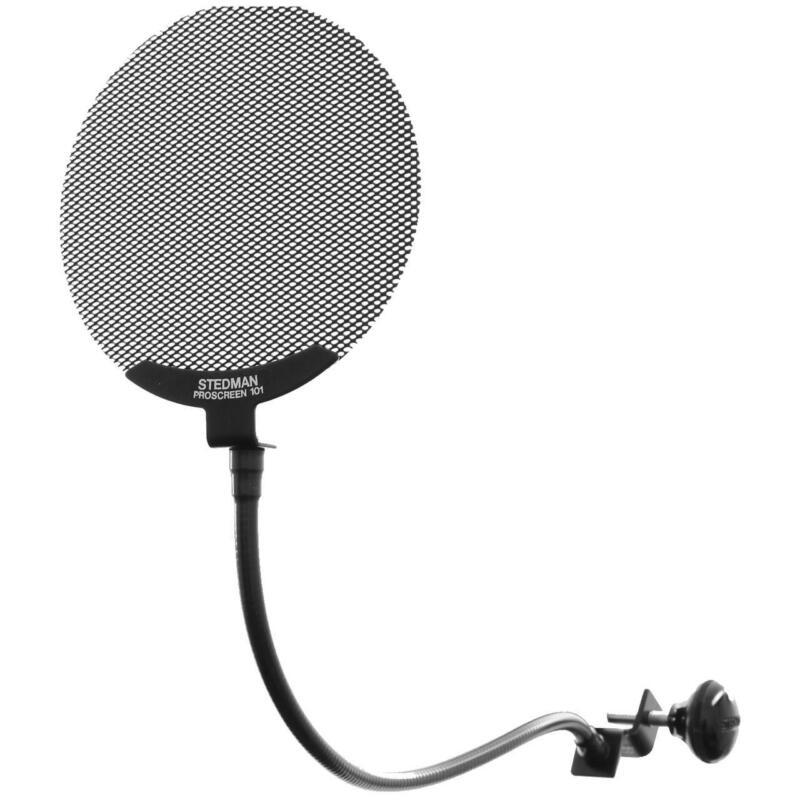 Stedman PS101 Pro Microphone Pop Screen Filter