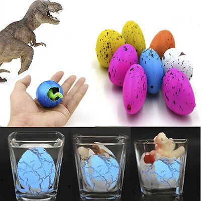 6pcs/Set Toys Inflatable Hatching Dinosaur Add Water Growing Dino Egg Cute Toys (Dinosaur Egg Hatching)