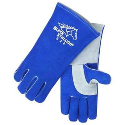 Black Stallion 320 Cushioncore Split Cowhide Stick Welding Gloves Medium