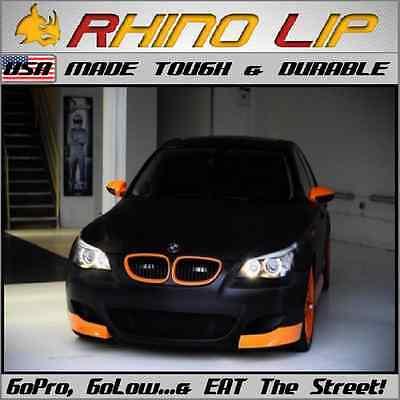 BMW 6-Series F14 Gran-Coupe GT G32 Gran-Turismo Rubber Spoiler Splitter Chin Lip