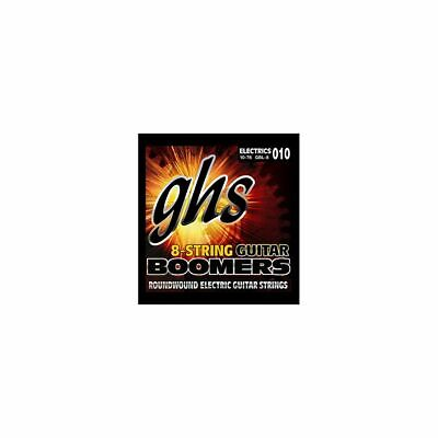 GHS Boomers -GB8L-Eléctrica Guitarra String Juego, 8-String, Light 010 076
