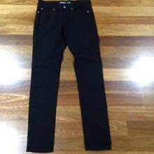 LADIES JAY JAYS BLACK SKINNY DENIM JEANS – SIZE 10 Bell Park Geelong City Preview