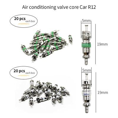 New A/C R134A/R12 108Pcs Valve Cores Set Universal Air Conditioning Accessories