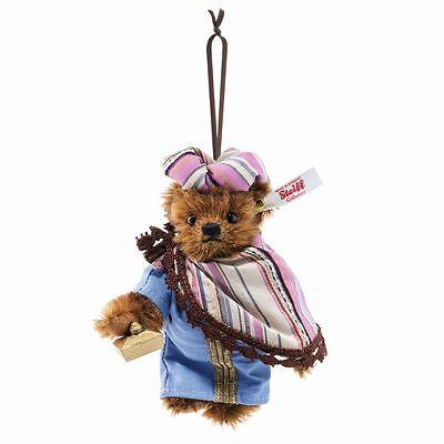 Steiff Balthasar Teddy Bear Ornament EAN 034077 Christmas Limited Edition New