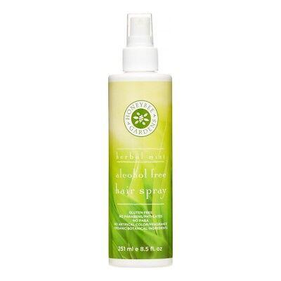 Gardeners Herbal Mint - Honeybee Gardens Alcohol Free Herbal Mint Hairspray - 8.5 oz