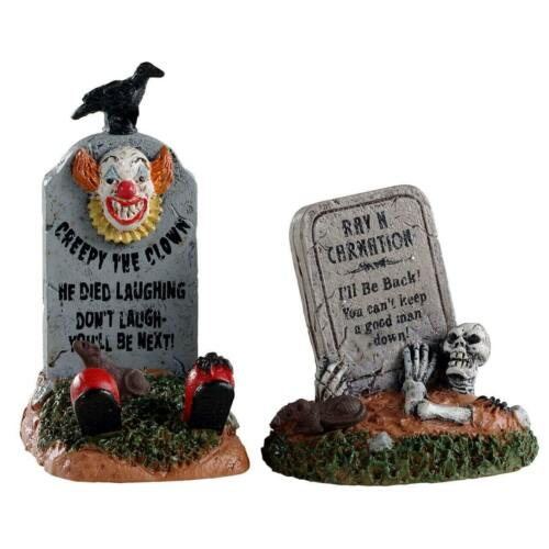 """Spooky Town Crazy Headstones of 2, """"You Can"""