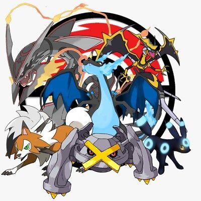 Any Pokemon Legendary 6Iv Shiny Event For Xy  Oras Ultra Sun Moon 3Ds