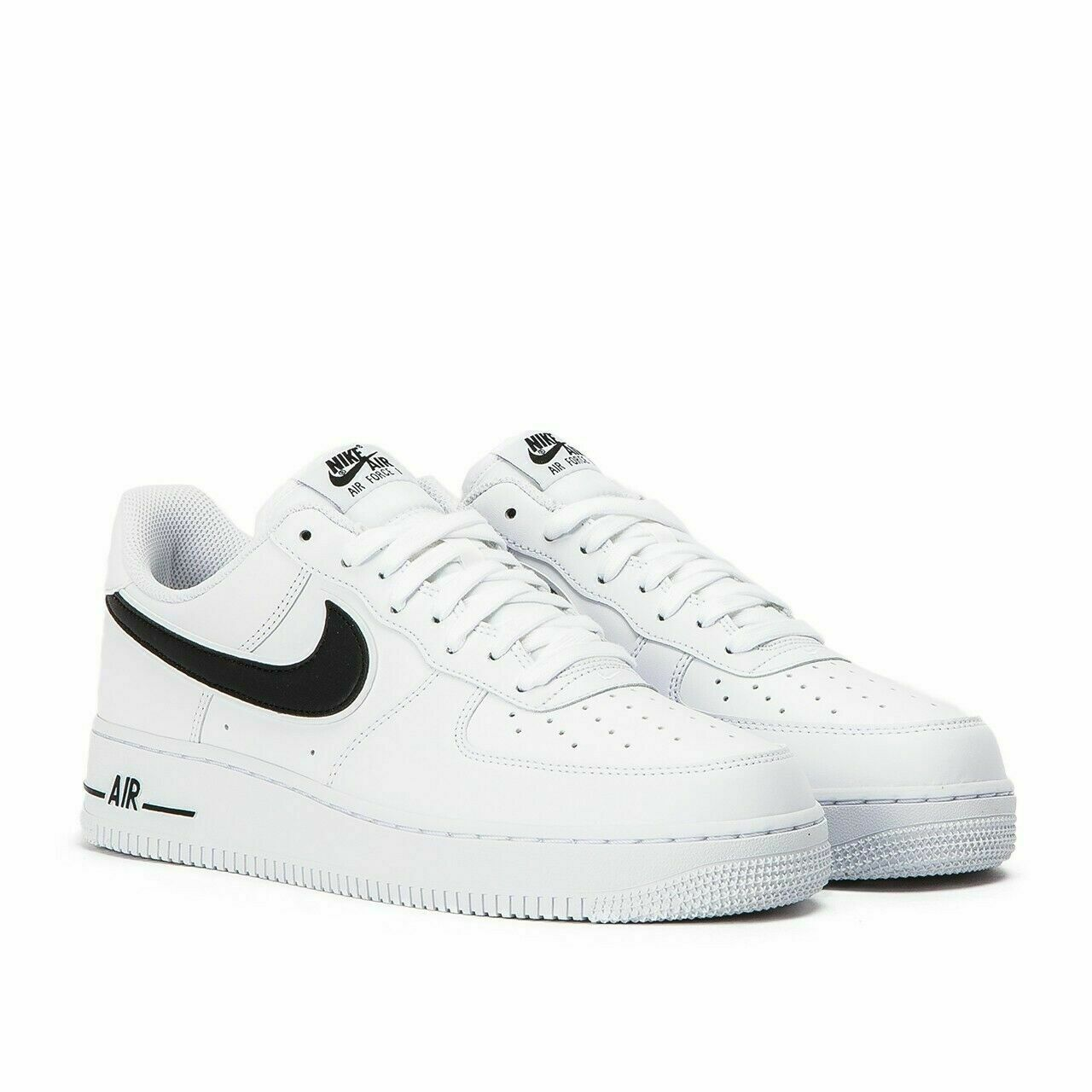nike air force with black tick