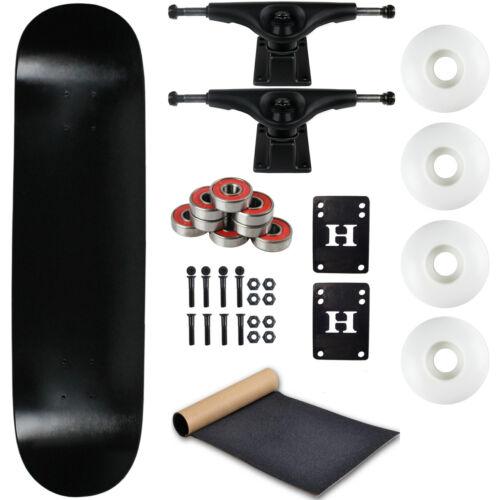 "Moose Complete Skateboard Dip Black 8.0"" With Black Trucks a"