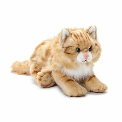 DEMDACO Nat and Jules Large Maine Coon Cat Striped Ginger Ki