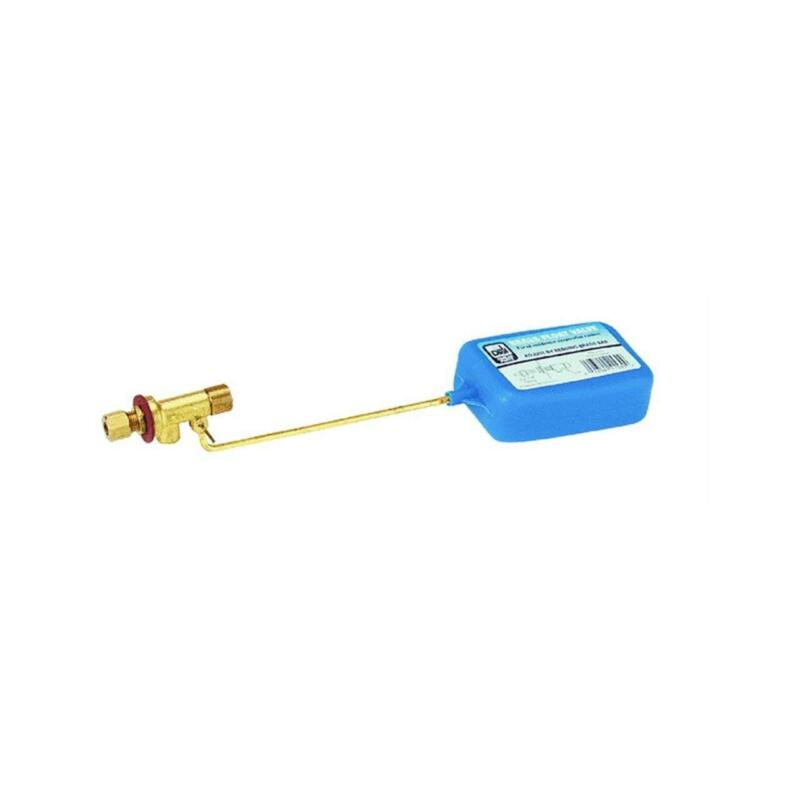 1/4-inch Evaporative Cooler Replacement Brass Float Valve with Adjustable Stem