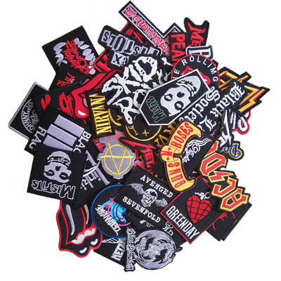 Wholesale Music Rock Punk Indy Reggae Mix Band Iron Sew on Embroidered Patch - Punk Wholesale