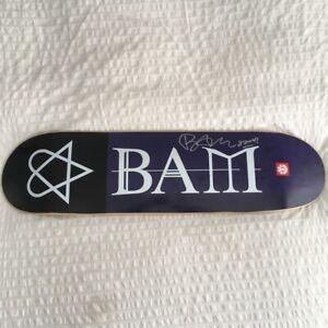 Bam margera signed deck