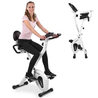 Heimtrainer Fahrrad Ergometer Indoor Fitnessbike Cardio Trimmrad Handpulsmessung