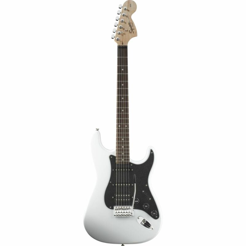 Squier AFFINITY SERIES STRATOCASTER HSS, Olympic White - E-Guitar