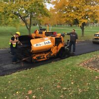 Experienced Asphalt Workers Required