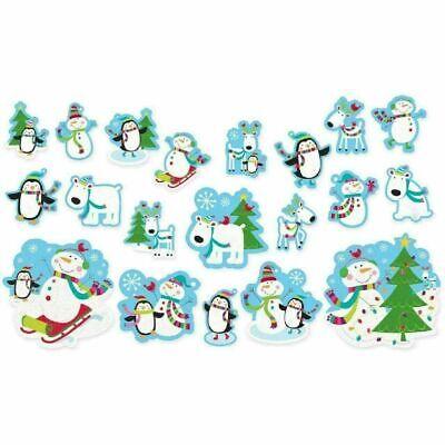 Value Pack Cut Outs (Amscan Joyful Snowman Mega Value Pack Cut-Outs)