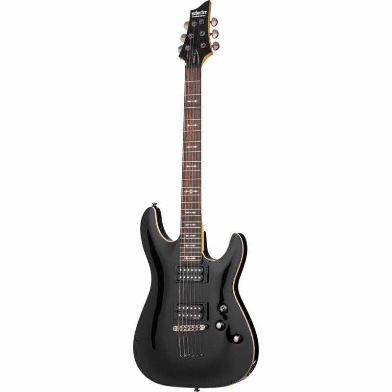 SCHECTER Omen 6 E-Guitar IN Gloss Black