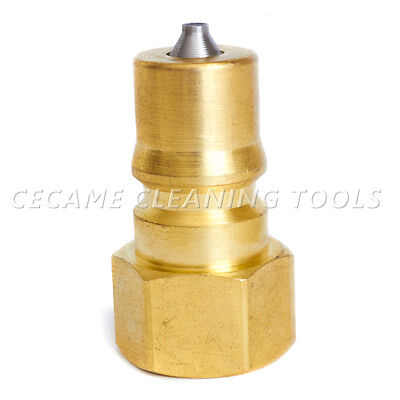 Male Quick Disconnect Coupler Connect 14 Carpet Cleaning Wand Truckmount Valve