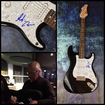 GFA Jethro Tull Guitarist * MARTIN BARRE * Signed Electric Guitar PROOF M1 COA