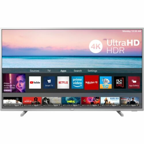 Philips TPVision 65PUS6554 65 Inch TV Smart 4K Ultra HD LED Freeview HD 3 HDMI