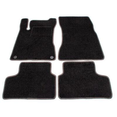 SCHÖNEK Veloursmatten Textilmatten Fußmatten für MERCEDES GLA H247 4-teilig
