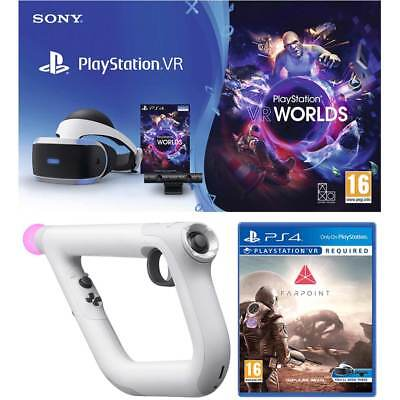 Sony PlayStation P4AEHWCST54155 PlayStation VR PlayStation 4 VR Starter Bundle