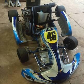 Yamaha KT100S Gokart BRM Frame Craigieburn Hume Area Preview