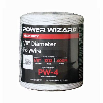 Agratronix Poly-wire 18in Diameter 1312ft400m Electric Fence Pw-4