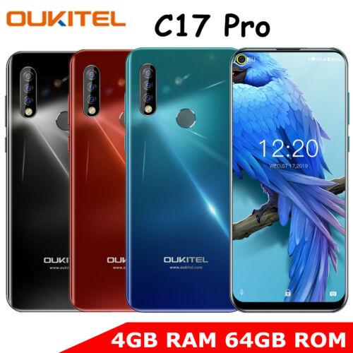 OUKITEL C17 Pro 4GB RAM + 64GB ROM Smartphone 4G LTE Handy Unlocked Android 9.0