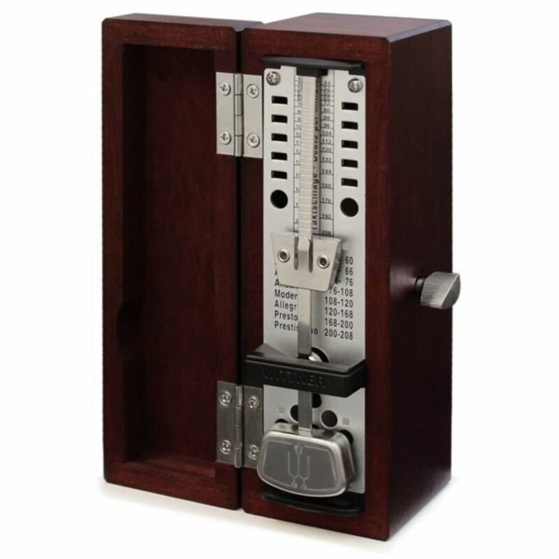 Wittner 880210 Taktell Super Mini Metronome with Mahogany Case