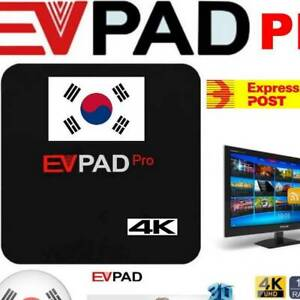 Korean TV, Drama & Movies EVPad Pro   IPTV Streaming Smart TV Box