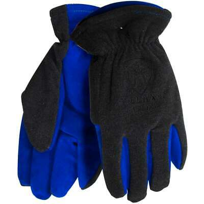 Tillman 1584 Polar Fleece With Coldblock Lining Leather Palm Winter Gloves Small