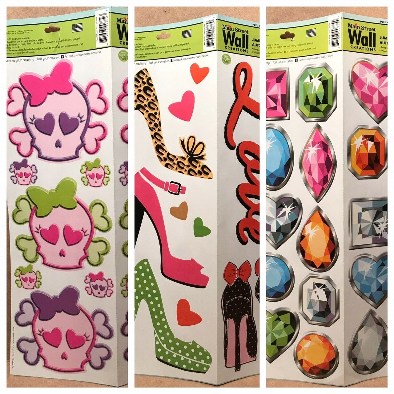 28 Butterflies Main Street Wall Creations Decals Stickers Peel Stick For Sale Online Ebay