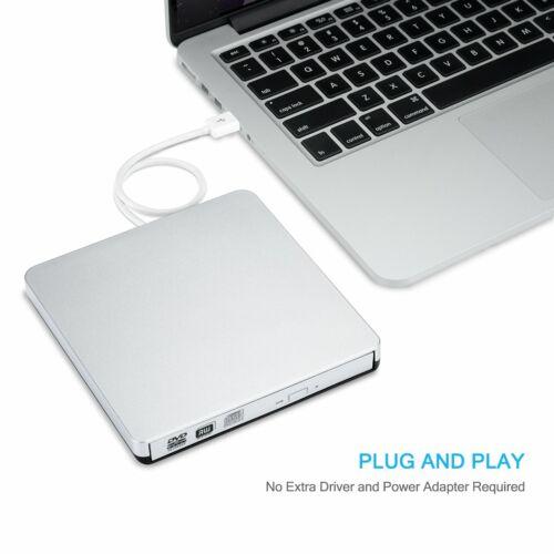USB CD/DVD-RW Writer Burner External Hard Drive for Apple Ma