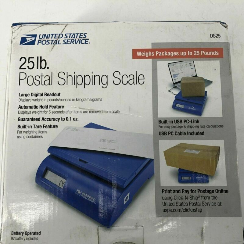 USPS DS25 25 LB POSTAL SCALE - NEW