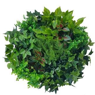 Artificial Green Wall Art Decor Disks Vertical Garden