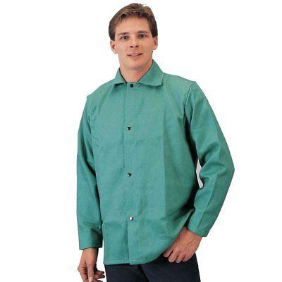 Tillman 6230l Lightweight 30 Green Jacket Flame Retardant Cotton - Large
