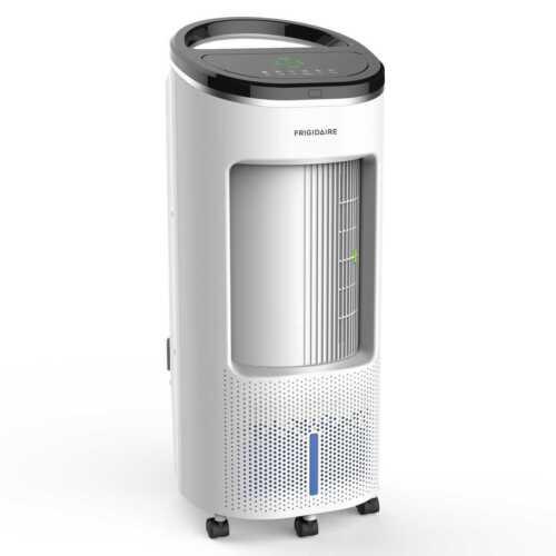 Frigidaire 2-in-1 Evaporative Air Cooler Fan, 250 sq. ft., 4 Fan Speeds, EC200WF