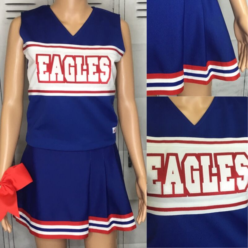 "Cheerleading Uniform  High School  Eagles Top 36""Skirt 28"""