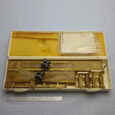 Medium Gage Block Accessories Set Clamping Holder Blocks Endmazubehr Ussr