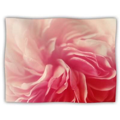 """Pet Blanket for You and/or Your Pet  60""""x50"""" VERY SOFT Throw Blanket Pink Shades"""