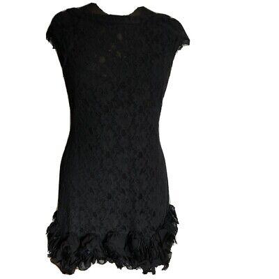 Jessica Simpson Women's Cap-Sleeve Tiered Lace Dress