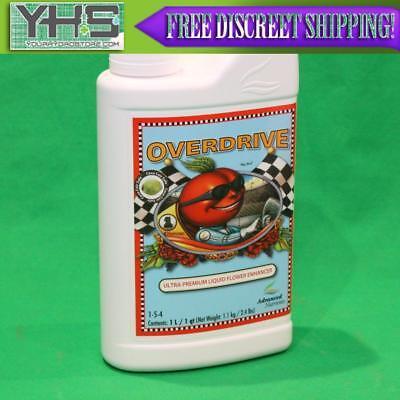 Advanced Nutrients Overdrive 1 Liter  1 L enhancer flower booster supplement 1L