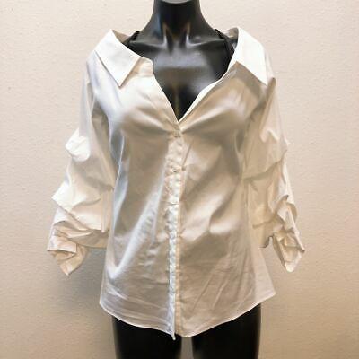 *Zara Woman White Blouse Small