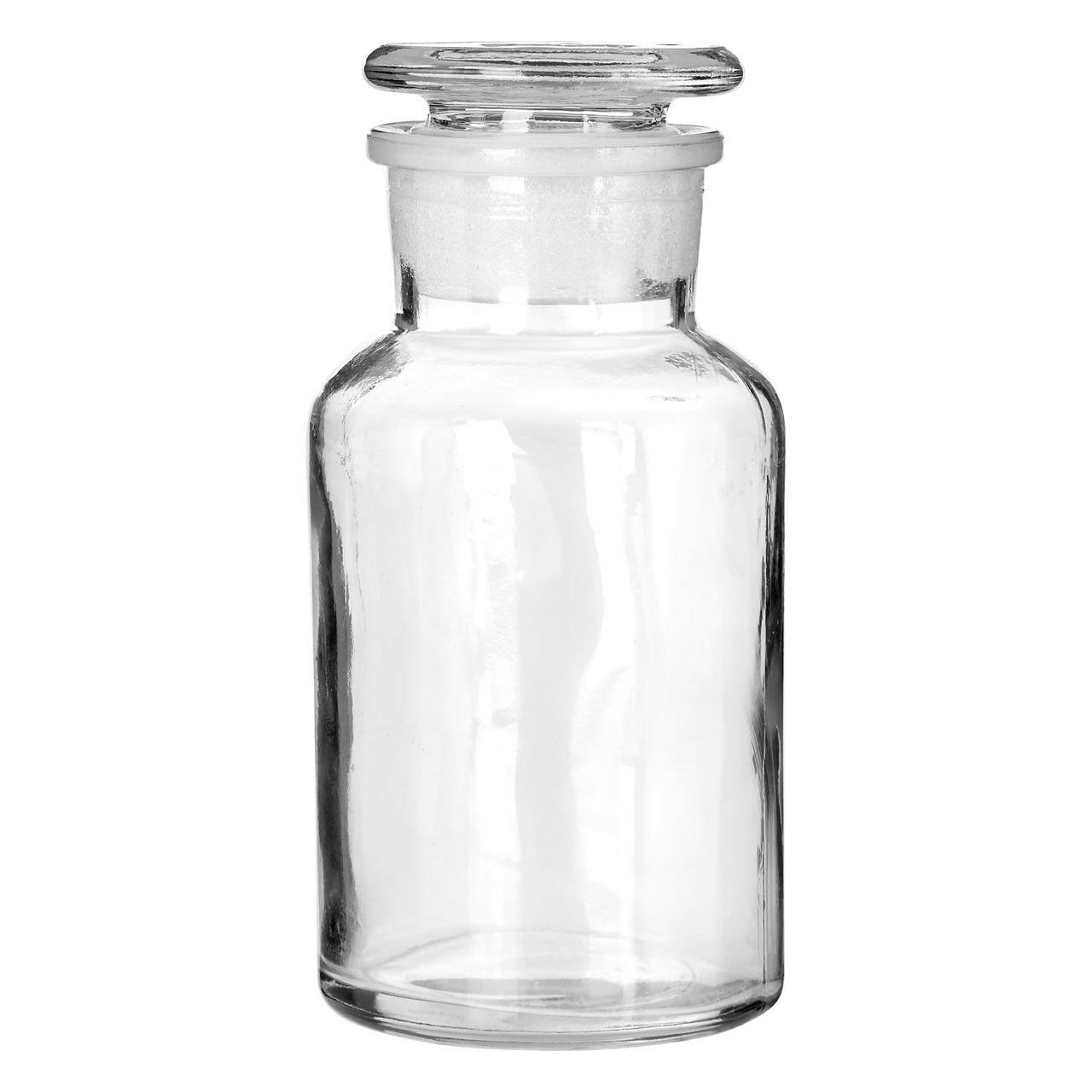 Apothecary Style Gl Storage Jar Suitable For Storing Small Items In The Bathroom