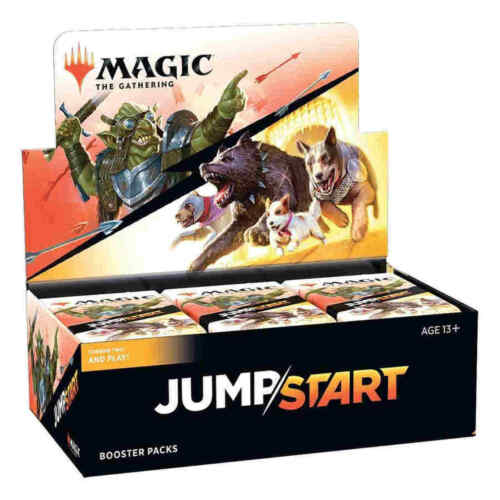 Jumpstart Booster Box - Mtg Magic The Gathering - Brand New! In Stock Now!