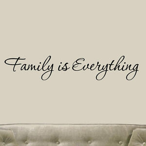 Vinyl Family Wall Quotes | eBay