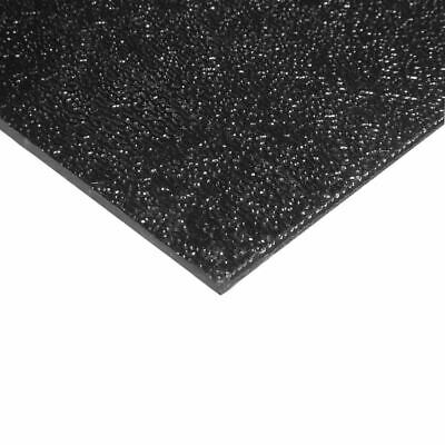 Abs Sheet 0.188 316 Inch X 12 X 24 Black